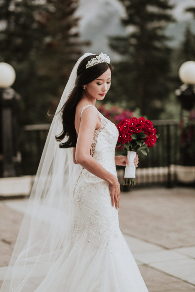 Miss Korea USA looking Stunning as Bride