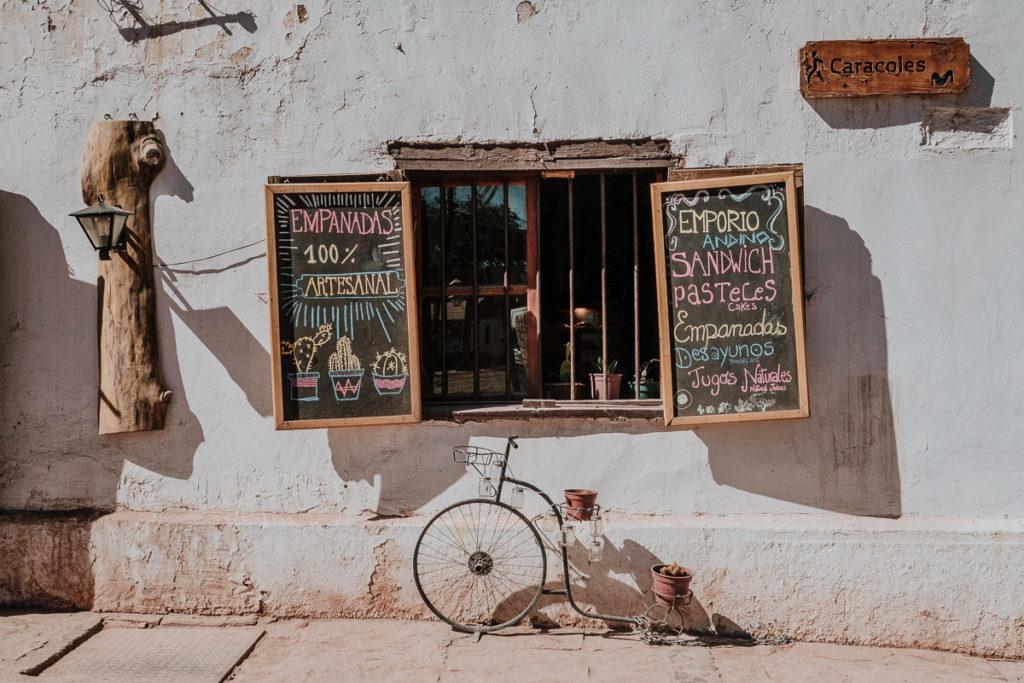 The cutest breakfast spot in San Pedro de Atacama