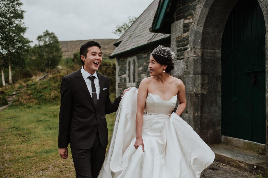 intimate abby wedding