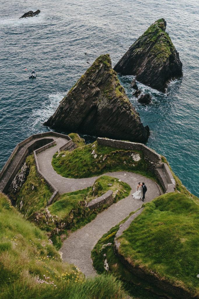 Dingle ferry Ireland wedding