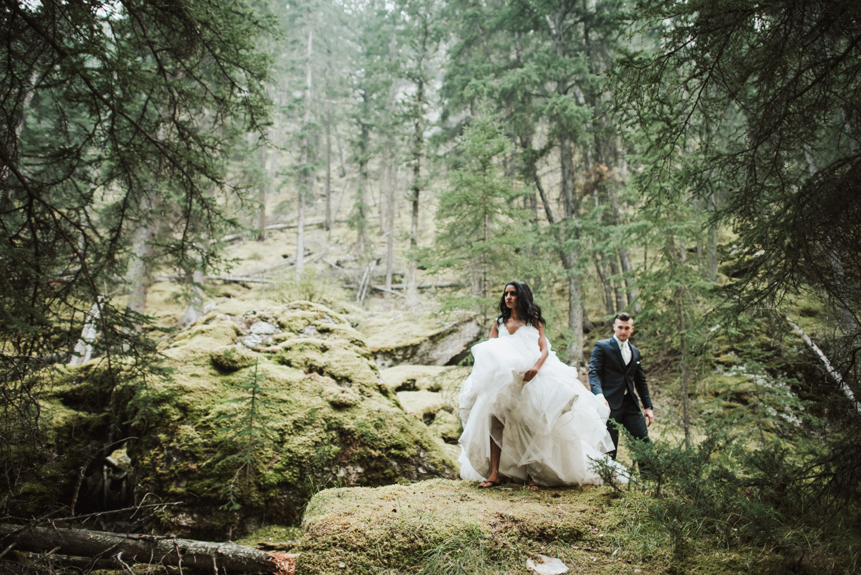 Jasper wedding photo