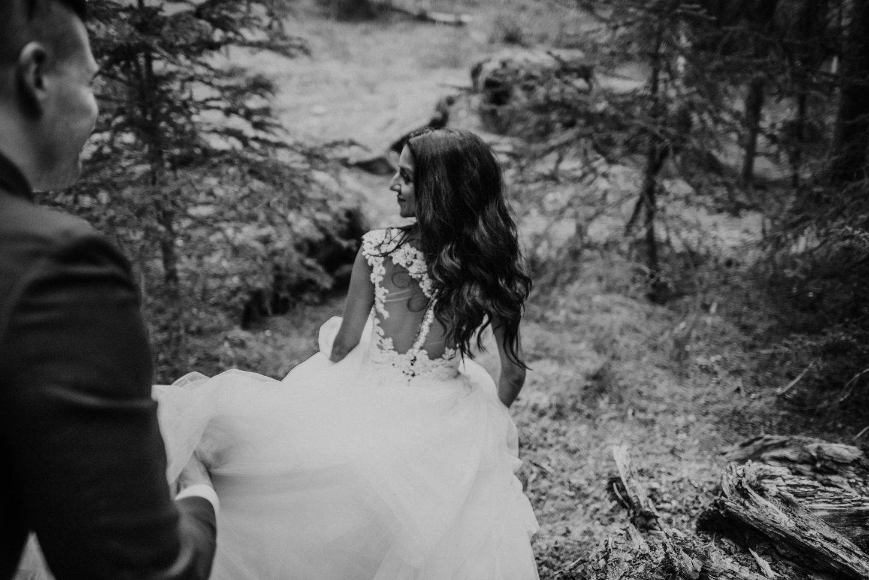 bohemian wedding forest