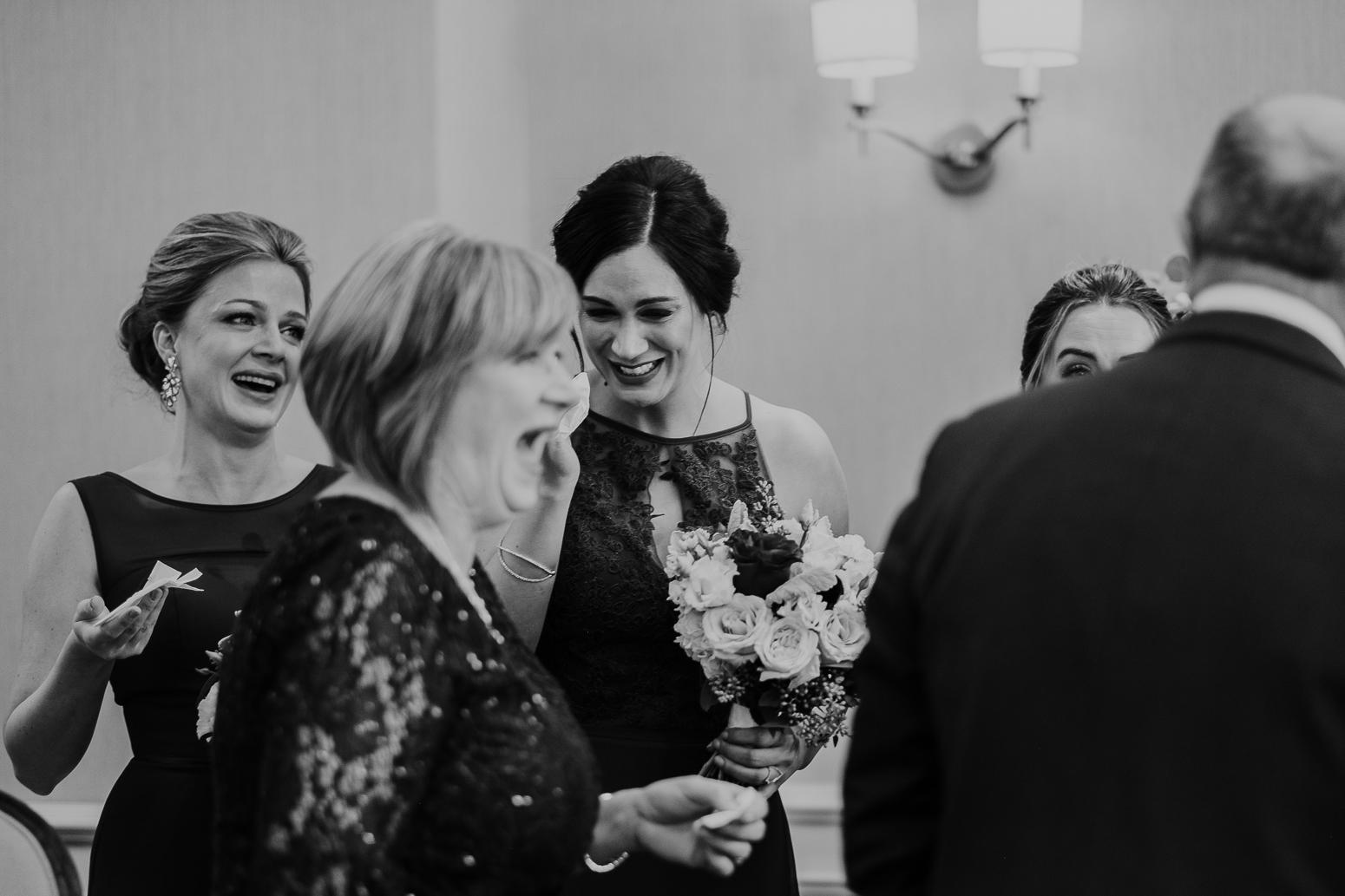 reception reactions