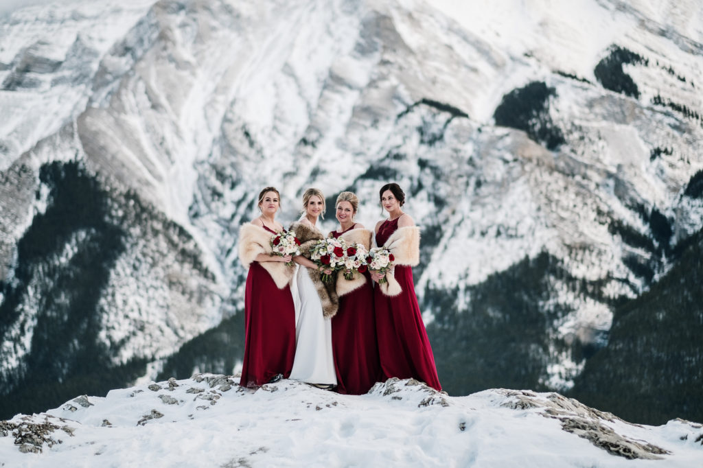 amazing bridesmaid portrait