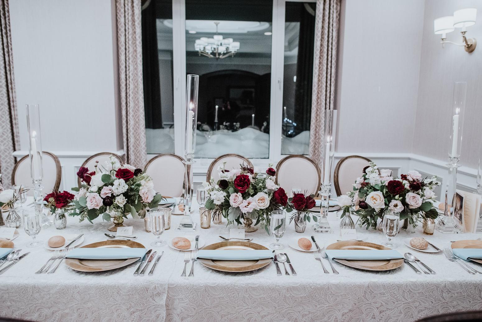 table decor wedding