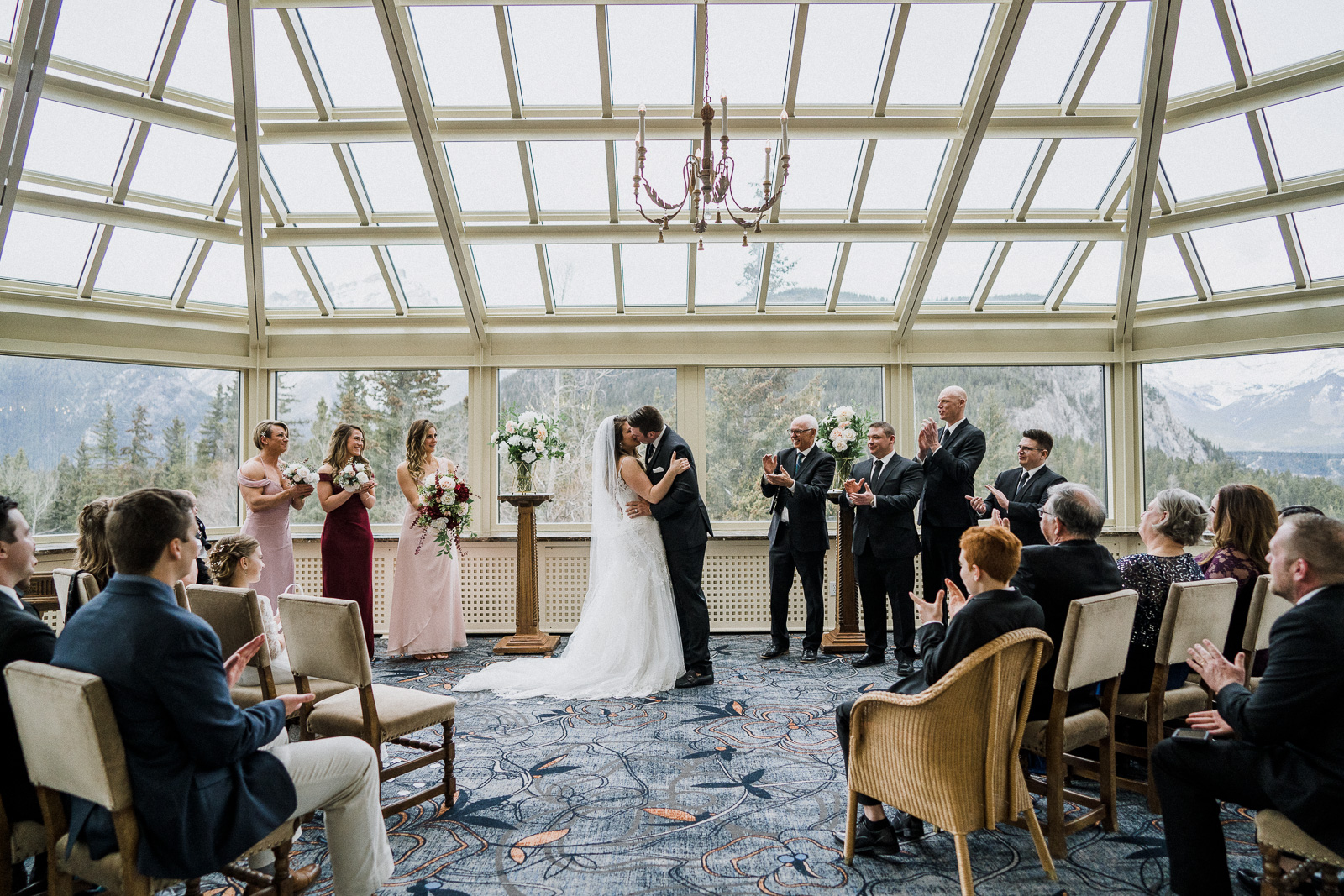 conservatory banff springs wedding