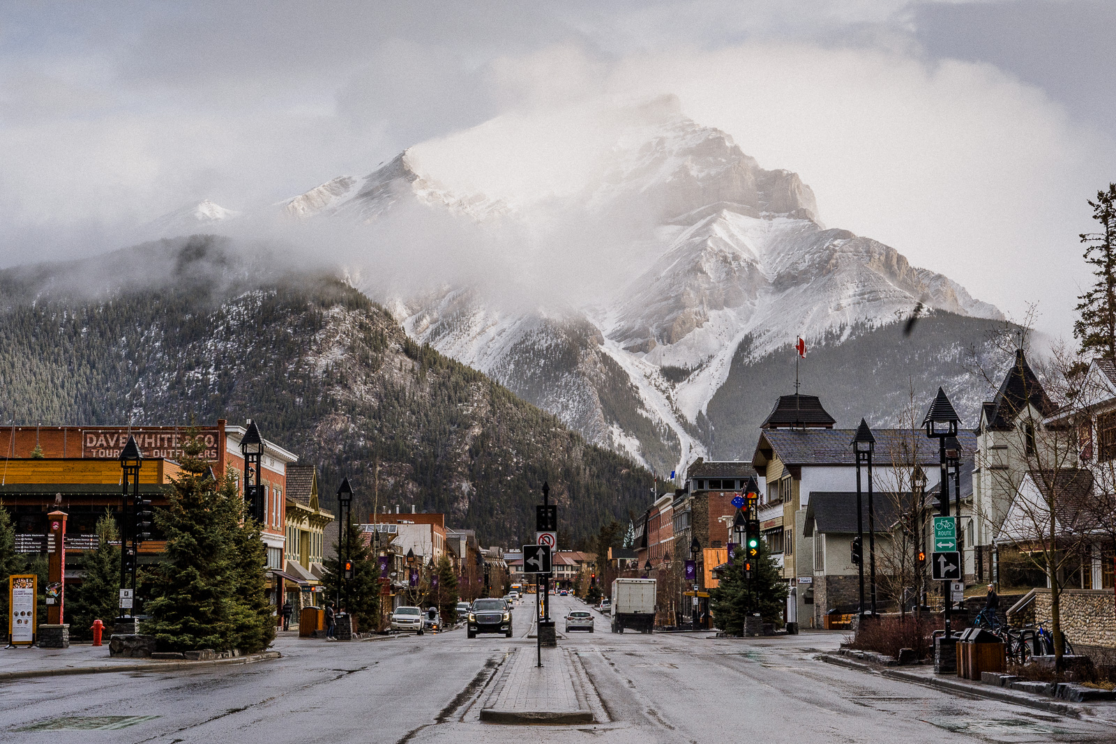 Banff in the morning