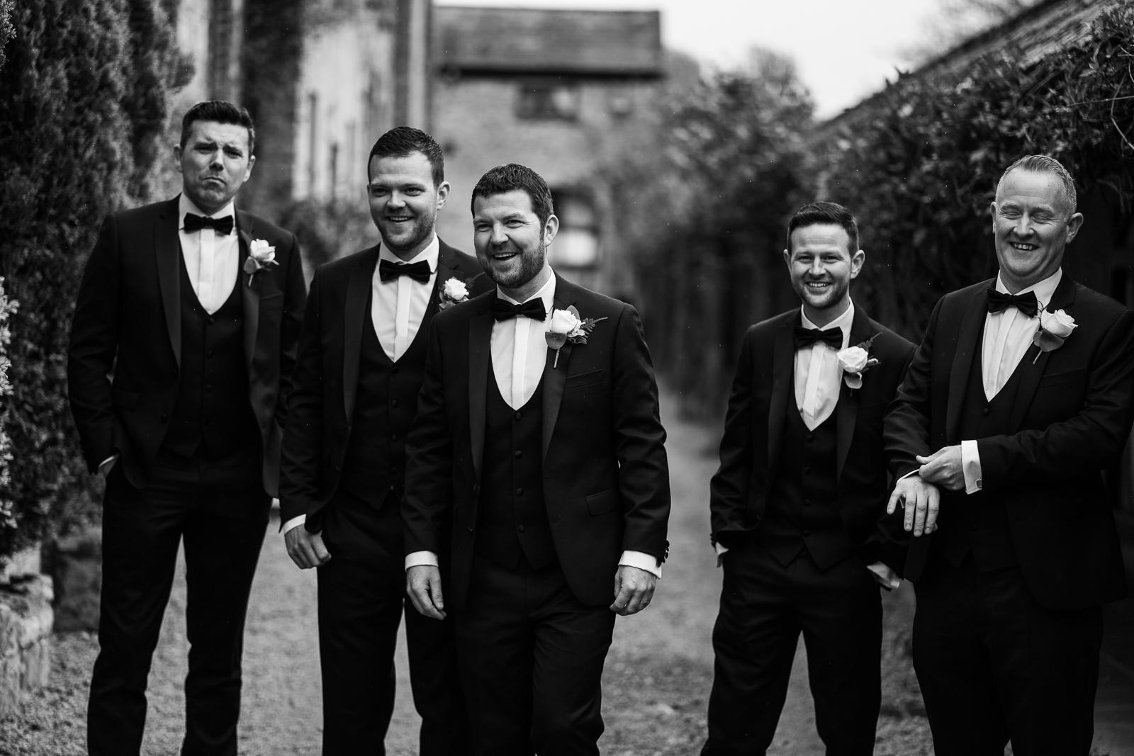 irish groomsmen