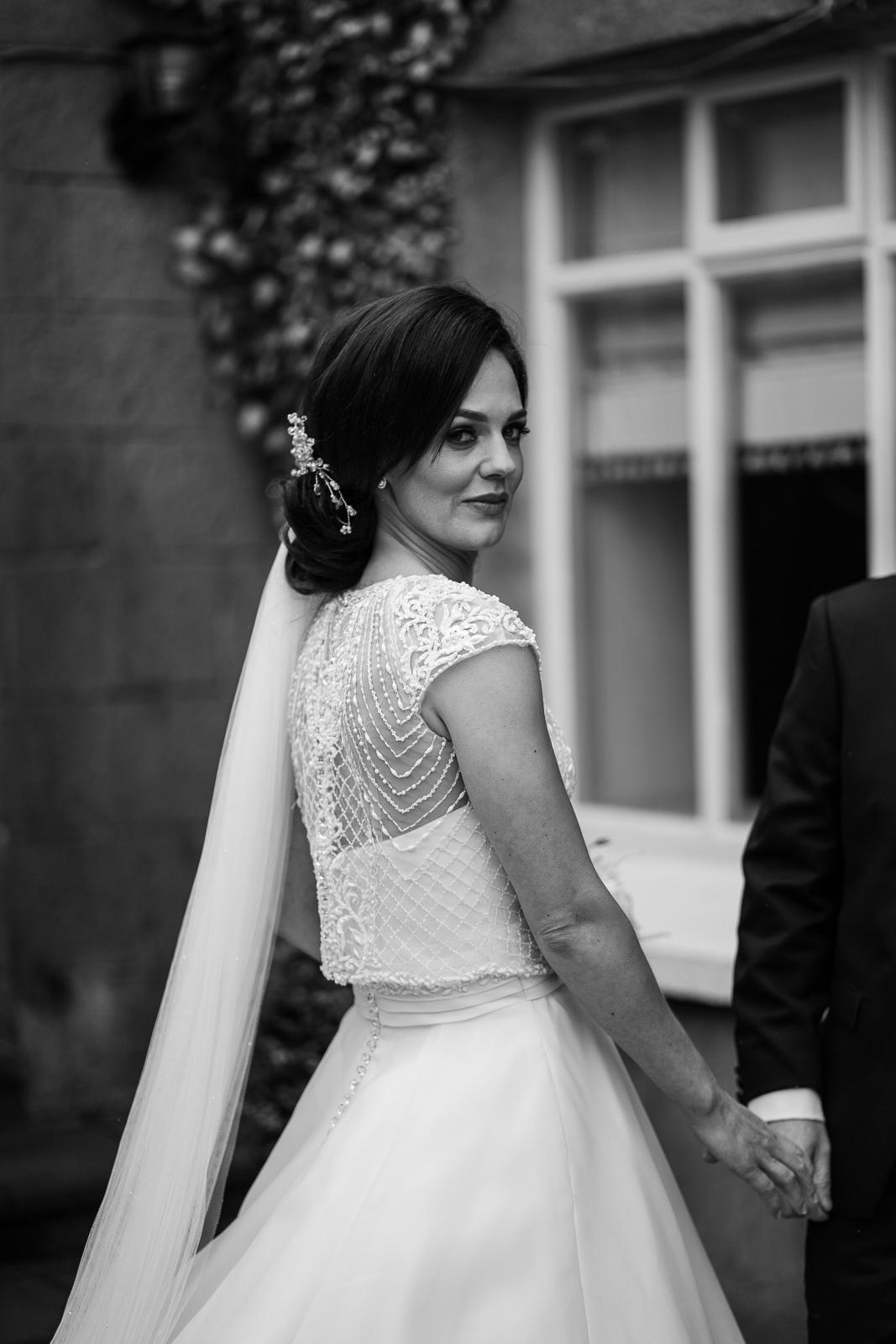 stunning irish bride