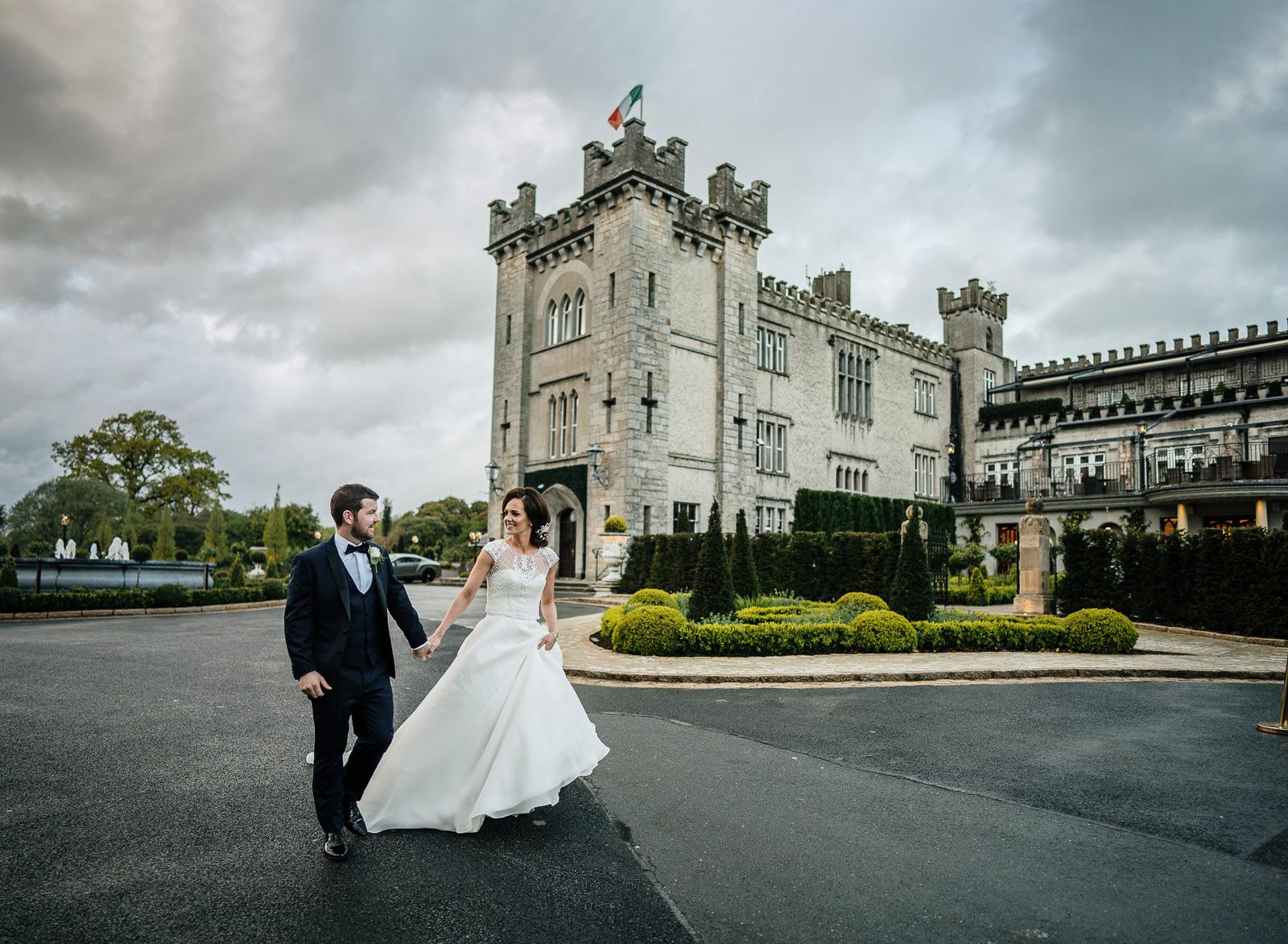 evening at an irish castle castle