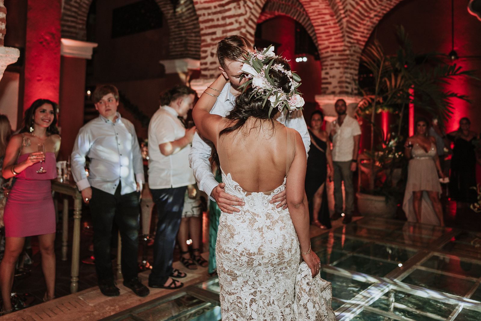 first dance wedding in cartagena