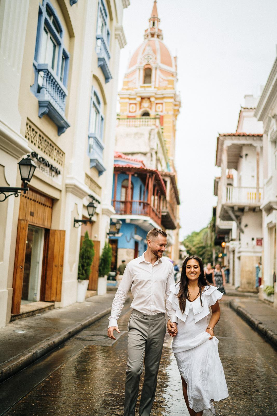 cartagena colombia couple