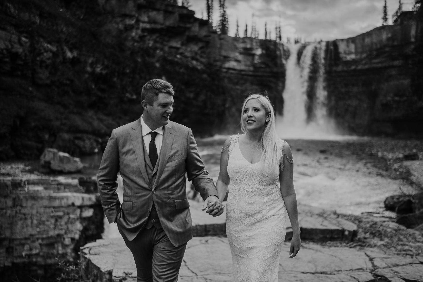 nordegg intimate wedding