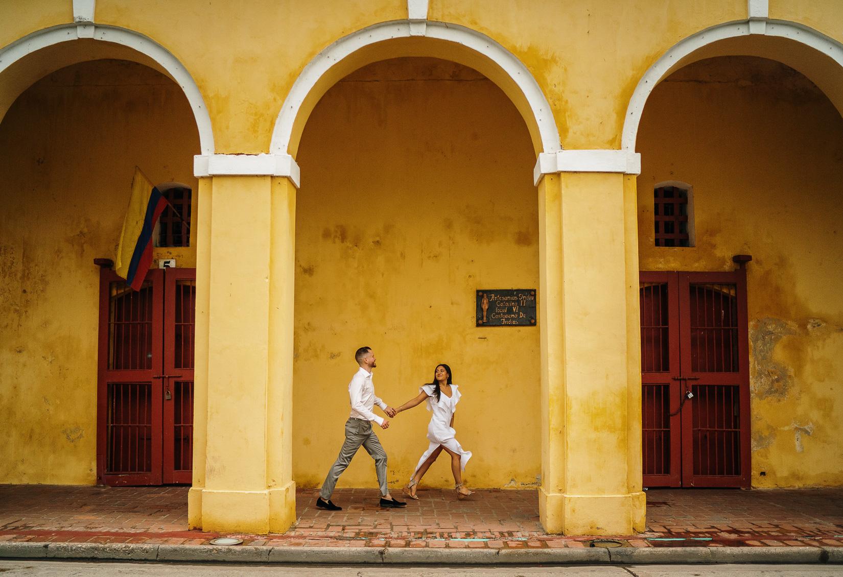 wedding in Cartagena Colombia