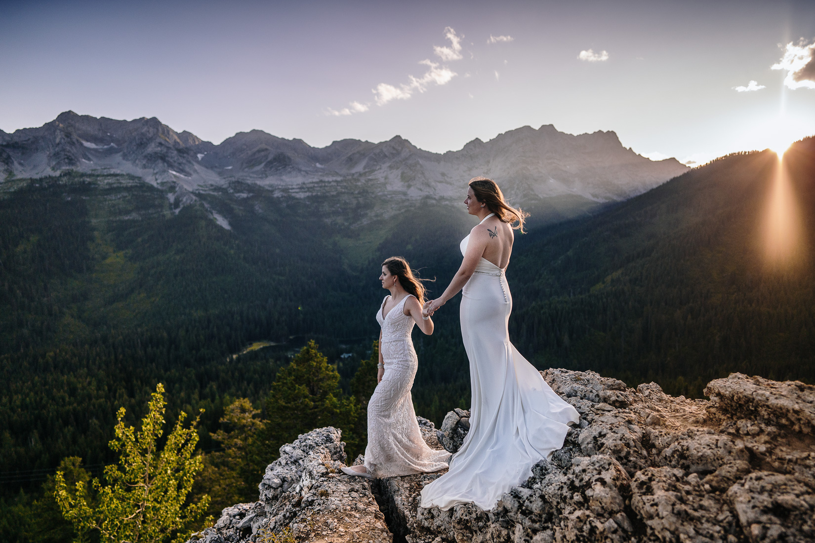 Island Lake Lodge Wedding - Gay Wedding