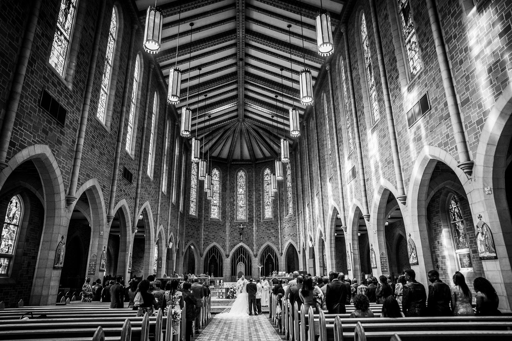Luxury Church Wedding in Edmonton