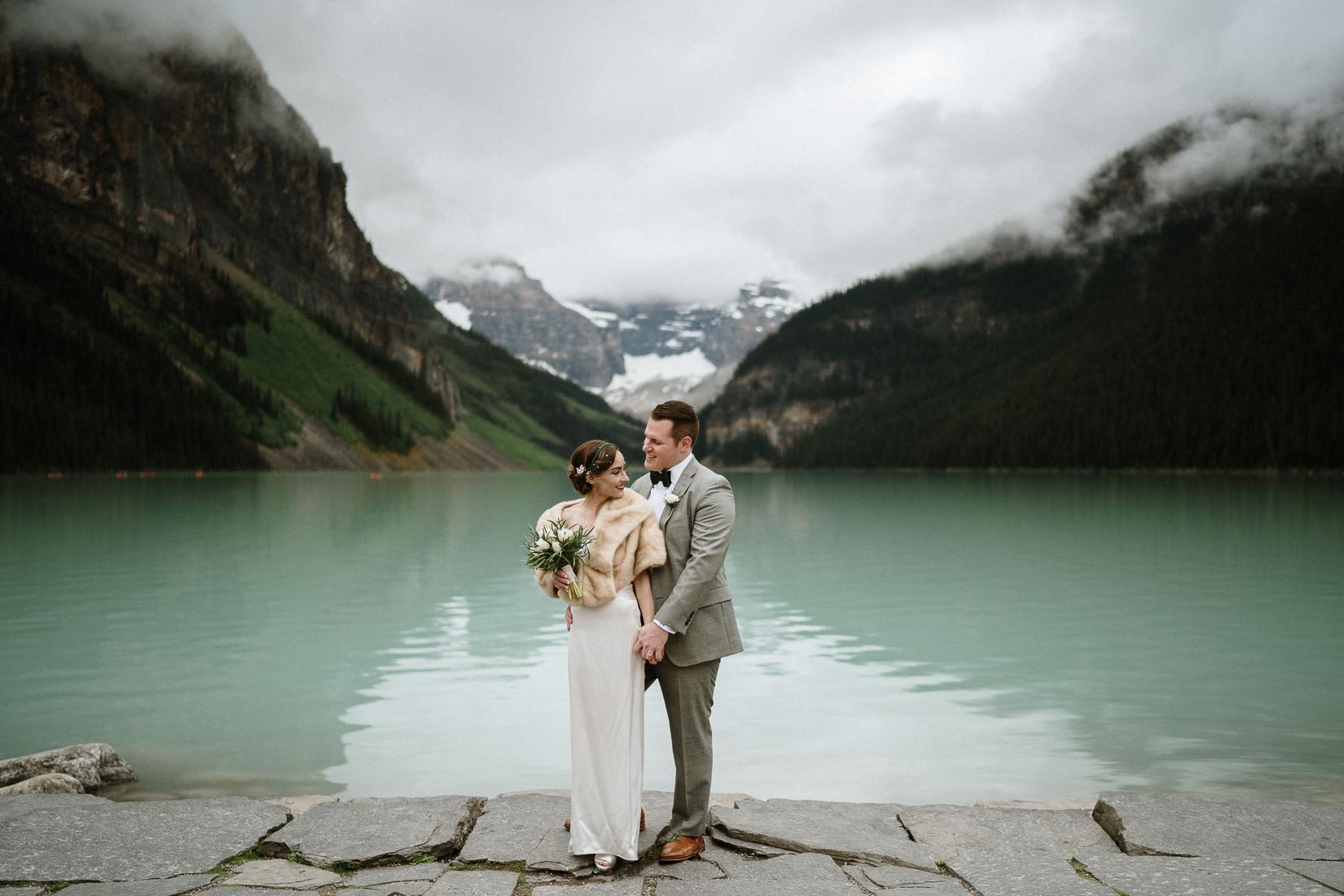 lake louise wedding ceremony
