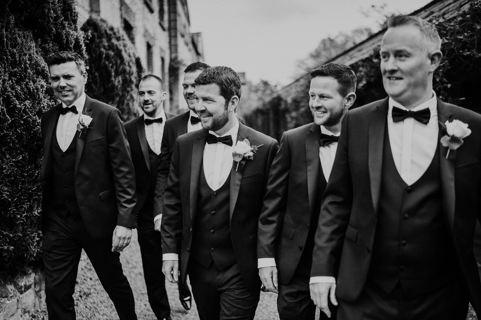 Groomsmen in Ireland