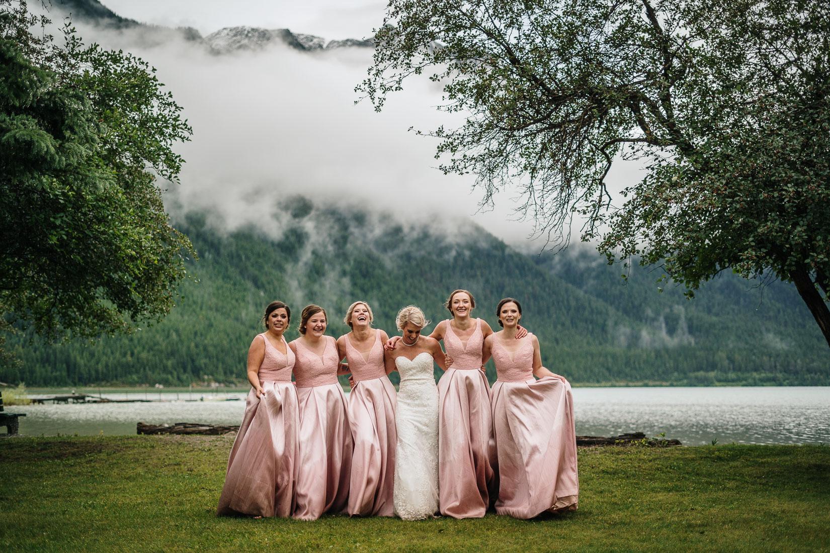 beautiful Bridal Party